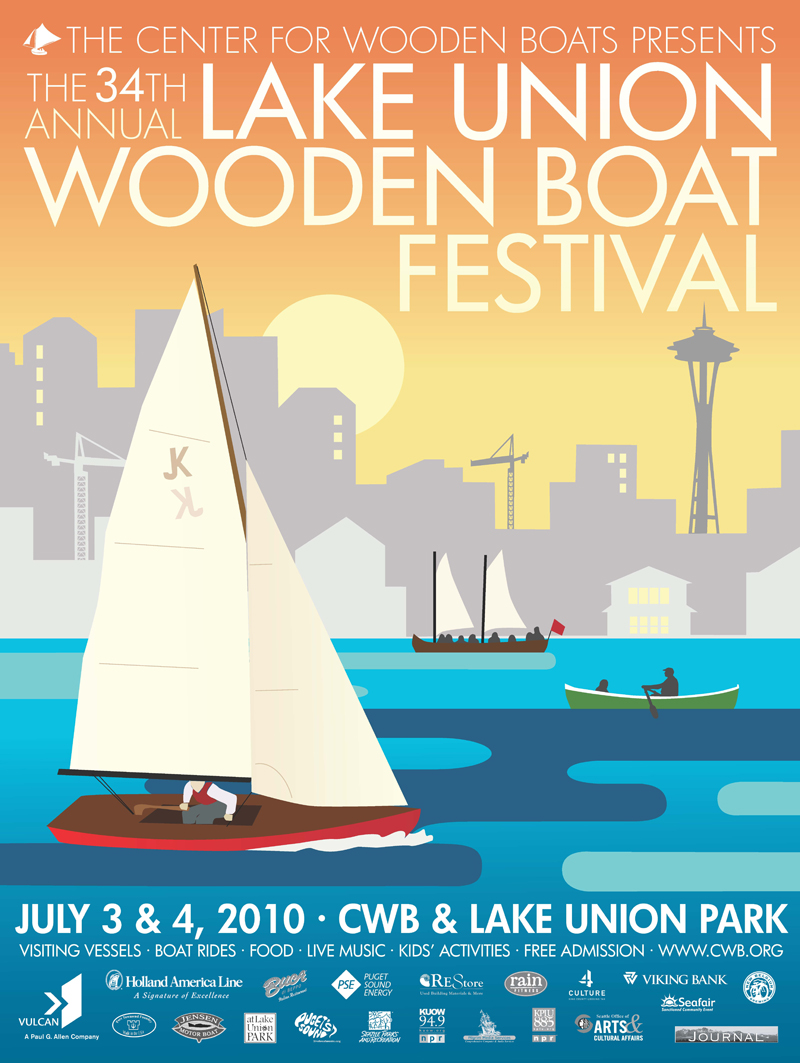 2010 Lake Union Wooden Boat Festival | The Center for Wooden Boats