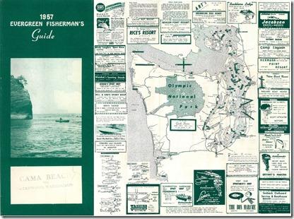 1957 Fishing Guide to Resorts