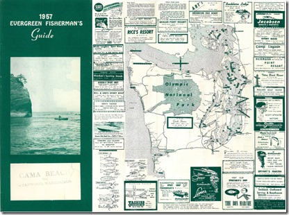 1957 Fishing Guide to Resorts